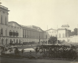 Burdwan - The Palace - from the north side